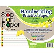 "Eureka Stop Light Practice Paper, 8 1/2"" x 11, Pack of 375 (EU-805108)"