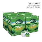 Green Mountain Breakfast Blend Coffee, Keurig® K-Cup® Pods, Light Roast, 96/Carton (6520)
