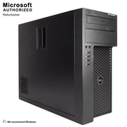 Dell Gaming T1650 Refurbished Desktop Computer, Intel Xeon E3-1225 V2, 8GB Memory, 2TB HDD (S18VFTDEDT01P29)