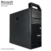 Lenovo ThinkStation S20 Desktop Computer, Intel Xeon W3550, 8GB DDR3, 2TB HDD, GTX1050 TI 4G, Tower, Refurbished