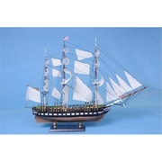 Handcrafted Model Ships Uss Constitution Limited 20 In. Decorative Tall Model Ship (Hdfm1466)