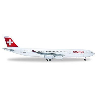 Herpa 200 Scale Commercial-Private Herpa Swiss International A340-300 1-200 (Daron11063)