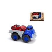 Green Toys Green Toys Blue Flatbed Truck And Red Race Car Set (New2706)
