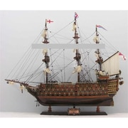 Old Modern Handicrafts Hms Victory Mid Size Ee Model Boat (Omhc051)