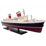 Handcrafted Model Ships Ss United States Limited 40 In. Decorative Cruise Ship (Hdfm2142)