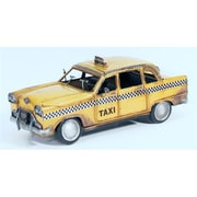 Atlantic Importers Jlc1216-Y 1933 Nyc Yellow Checker Cab Replica (Atli047)