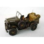 Atlantic Importers Jljp1481-Gn Army Jeep Replica (Atli071)