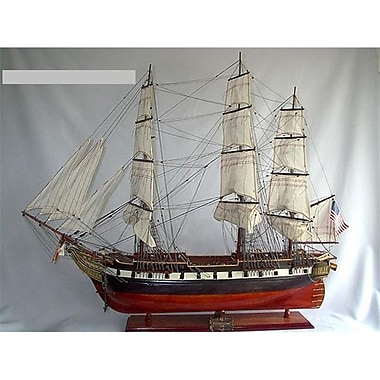 Old Modern Handicrafts Uss Constellation Model Boat (Omhc065)