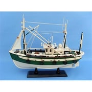 Handcrafted Model Ships Finally Fishing 18 In. Decorative Fishing Boat (Hdfm2041)