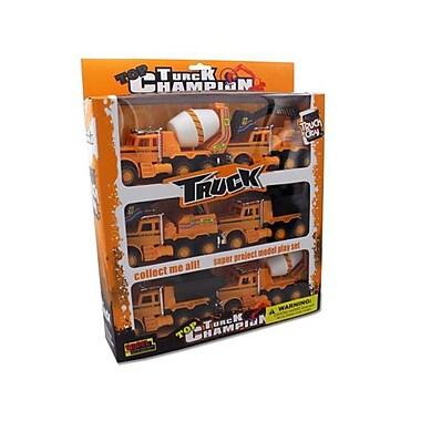Friction Powered Construction Trucks - Pack Of 4 (Kolim23427)