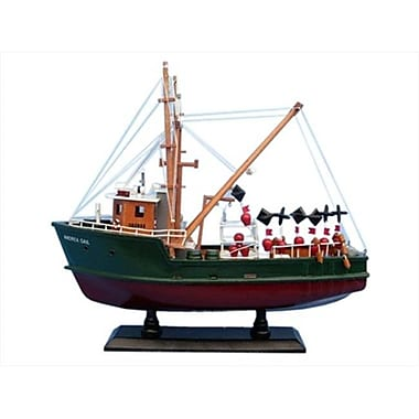 Handcrafted Model Ships Andrea Gail 16 In. - The Perfect Storm Decorative Fishing Boat (Hdfm2021)