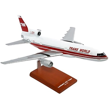 Mastercraft Collection L-1011 Twa Desktop Wood Model (Mtfm392)