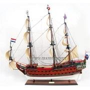 Gia Nhien Zeven Provincien Painted Wooden Model Tall Ship (Gani039)