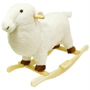 Happy Trails Lamb Plush Rocking Animal (Tc80-78Lamb)