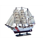 Handcrafted Model Ships Uscg Eagle 15 In. Decorative Tall Model Ship (Hdfm2188)