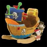 Rockabye Ahoy Doggie Pirate Ship Rocker (Rkby011)