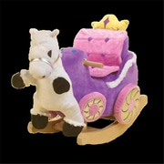 Rockabye Princess Carriage Rocker (Rkby009)