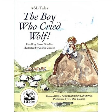 Harris Communications Asl Tales - The Boy Who Cried Wolf (Hrsc1251)