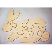 The Puzzle-Man Toys Wooden Educational Jig Saw Puzzle - Bunny (Crwp079)