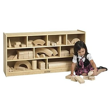 Early Childhood Resources Wooden Block Storage Cabinet - Medium (Rtl47591)