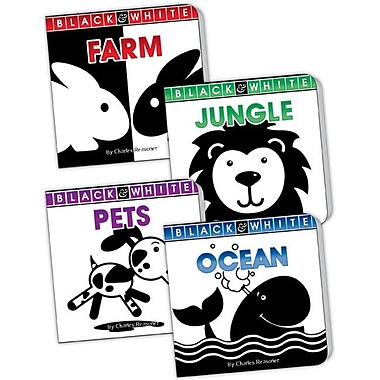Teacher Created Resources Black And White Board Book Set (Set Of 4) (Tccr1335)