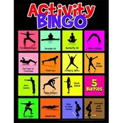 Learning Zonexpress Physical Activity Bingo Game - All Ages (Sspc65858)