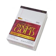 Tops Docket Gold Perforated Pads Legal Rule Letter We 12 50-Sheets Pads Pack (Azrtop63960)