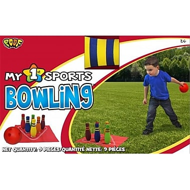 Poof-Slinky Poof My 1St Bowling Set With 5.5-Inch Bowling Ball And Foam Pins (Poof306)