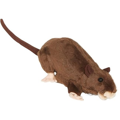 Sunny Toys 13 In. Rat - Brown,