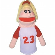 Get Ready Athletic Girl Puppet- Hispanic- 18 Inch (Gtrdy129)