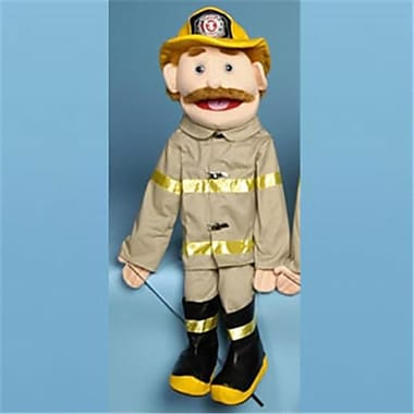 Sunny Toys 28 In. Dad Fireman, Full Body Puppet (Snty221)