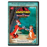 Rising Star Education 9781936086108 Adventures From The Book Of Virtues- Vol. 4 - Generosity- Dvd (Rsngstar037)