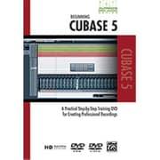 Alfred Pro Audio Series- Beginning Cubase 5 - Music Book (Alfrd45765)