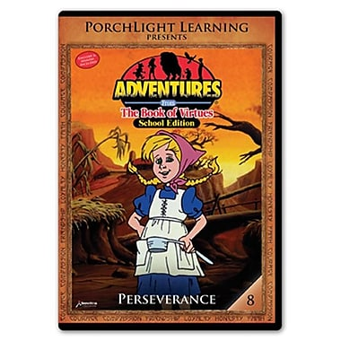 Rising Star Education 9781936086146 Adventures From The Book Of Virtues- Vol. 8 - Perseverance- Dvd (Rsngstar041)