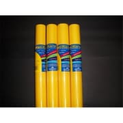 Riteco Raydiant Riteco Raydiant Fade Resistant Art Rolls Canary Yellow 48 In. X 12 Ft. 4 Pack (Rtco001)