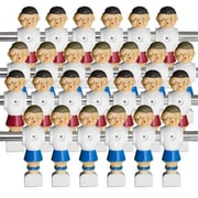 Brybelly Holdings 26 Old-Style Foosball Men With Hardware - Red And Blue (Brybl3120)