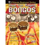 Alfred Ultimate Beginner Series- Have Fun Playing Hand Drums- Bongos - Music Book (Alfrd39657)