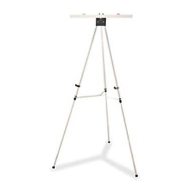 Skilcraft Tripod Easel, Adjustable From 35 In. To 64 In., Aluminum-Silver (Sprch41205)