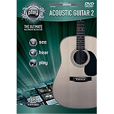 Alfred Play- Acoustic Guitar 2 - Music Book (Alfrd35610)