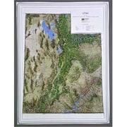 Hubbard Scientific Raised Relief Map Utah Ncr Series (Amed1984)
