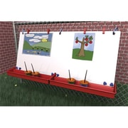 """Manta Ray 46""""W X 22-1/2""""H Double Fence Easel (Mntr004)"""