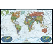 National Geographic World Decorator - Enlarged And Laminated Map (Ngs703)
