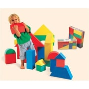Edushape Giant Blocks - Set Of 32 - 4 1/3 (Edus363)
