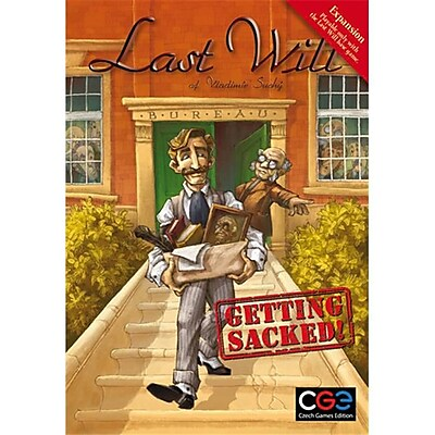 Czech Games Edition Inc 00025 Last Will - Getting Sacked (Acdd14520) 2487885