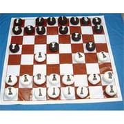American Educational Chess-Checker Set With Flat Balls (Amed4669)