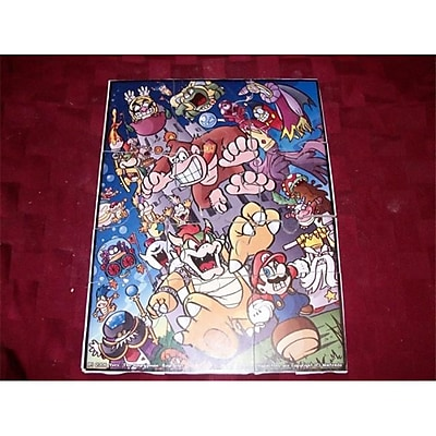 Fine Crafts Mario And Friends Childrens Jigsaw Puzzle (Fncrf280) 2488199