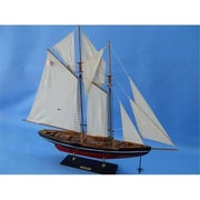 Handcrafted Model Ships Bluenose 32 In. Decorative Sail Boat (Hdfm2105)