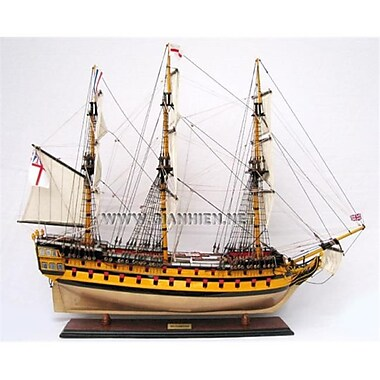 Gia Nhien Hms Agamemnon Wooden Model Tall Ship (Gani049)