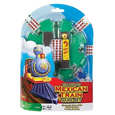 Poof-Slinky Ideal Mexican Train Game Set With