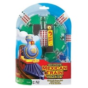 Poof-Slinky Ideal Mexican Train Game Set With Electronic Sound Effect Game Hub And Train Markers (Poof233)
